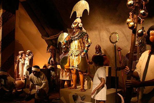 """El espléndido """"Museo de las Tumbas Reales de Sipán"""""""