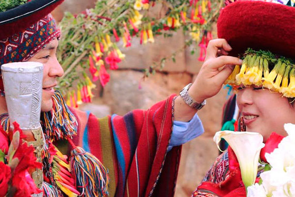 Matrimonio Andino; el Camino del Amor Incondicional