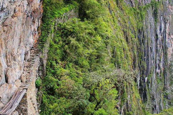 El Puente Inca de Machu Picchu