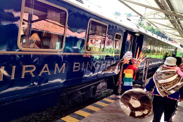 El tren más lujoso en Cusco, Hiram Bingham