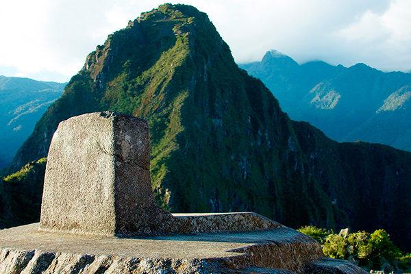 El Intihuatana en Machu Picchu