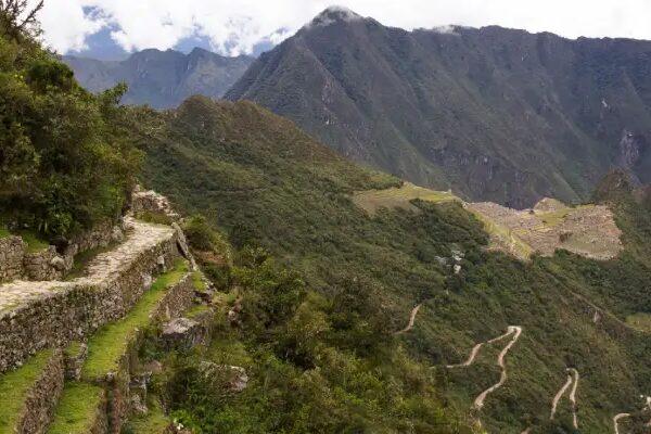 Inti Punku en Machu Picchu