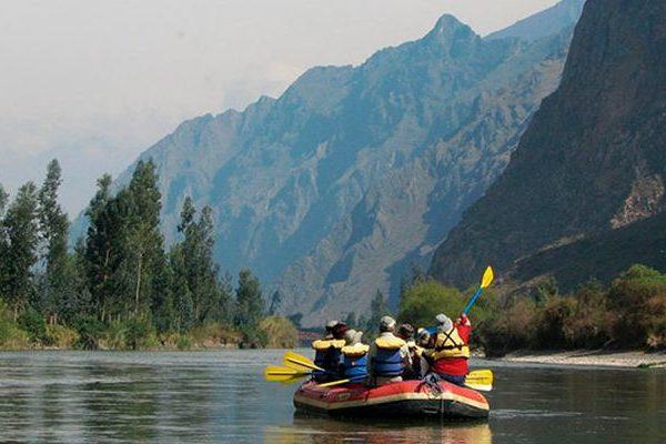 El río Sagrado o Willkamayu