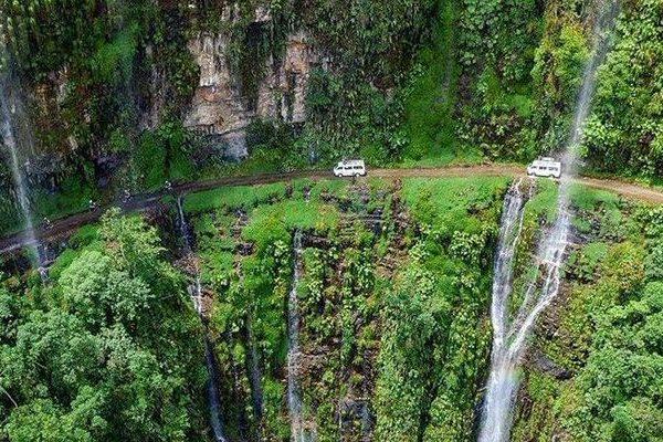 """La impactante y peligrosa """"ruta de la muerte"""" en Bolivia"""