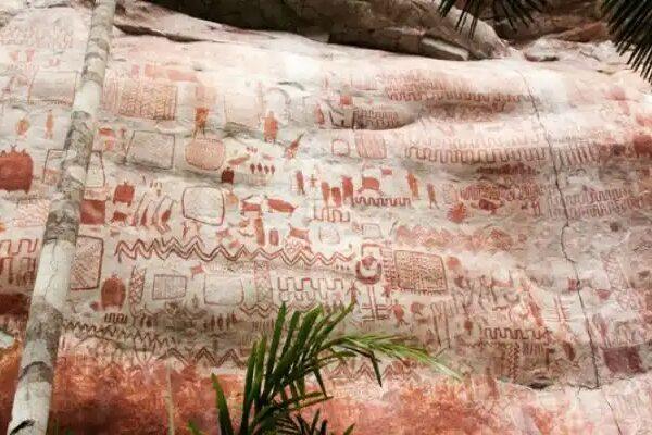 Sabías que las pinturas rupestres más antiguas del mundo se encuentran en el Parque Nacional Chiribiquete